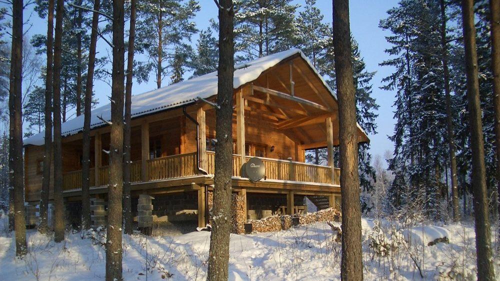 Winter im Haus Dachsbau