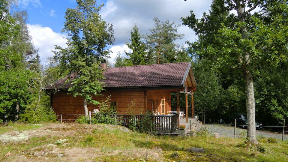 Ferienhaus Waldblick mit umlaufender Terrasse