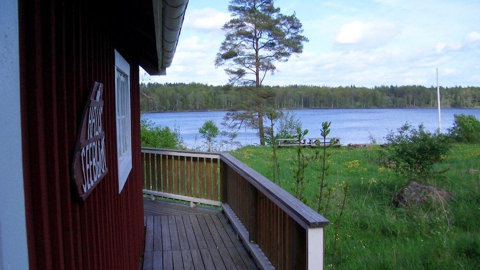 Terrasse vom Haus Seeblick mit fantastischem Seeblick