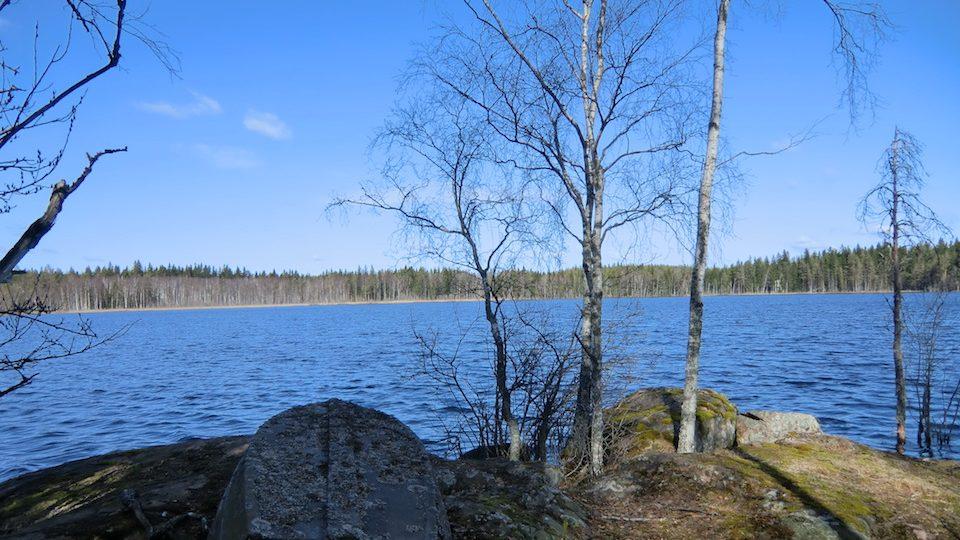 Der Göshultasjön, ca. 30 ha groß