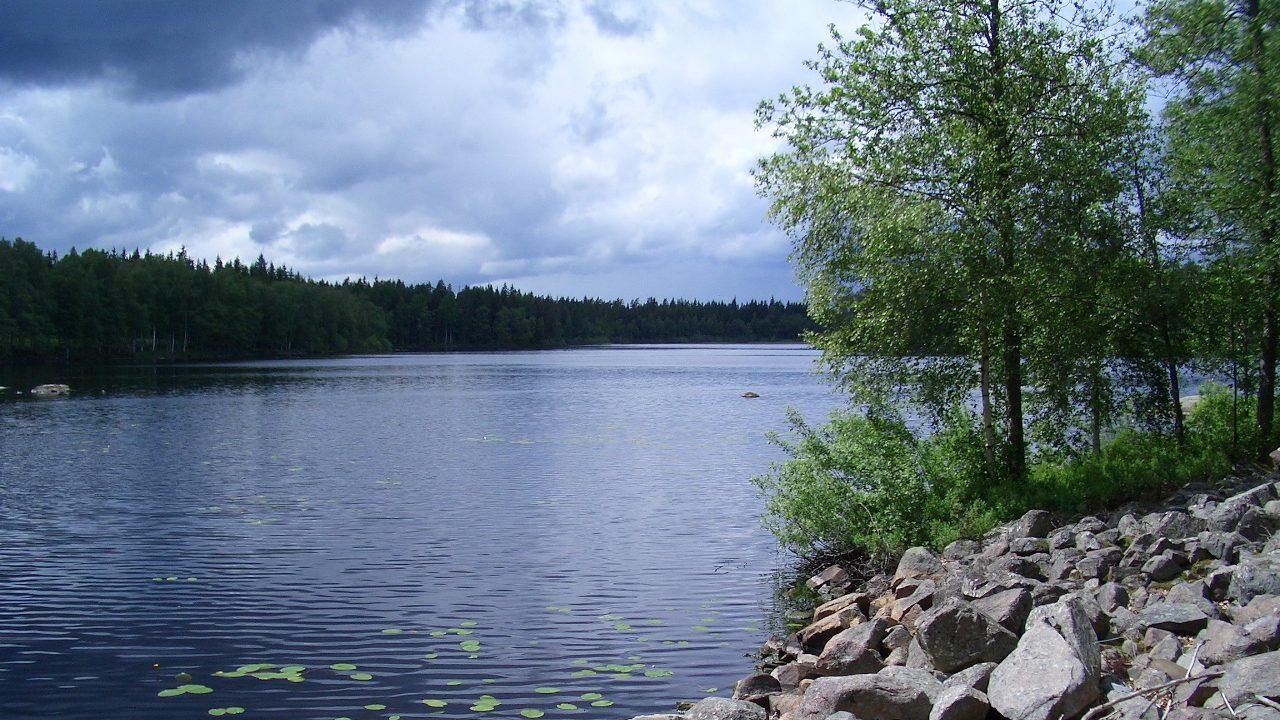 Der See ist zwar klein, aber so gut wie unbewohnt