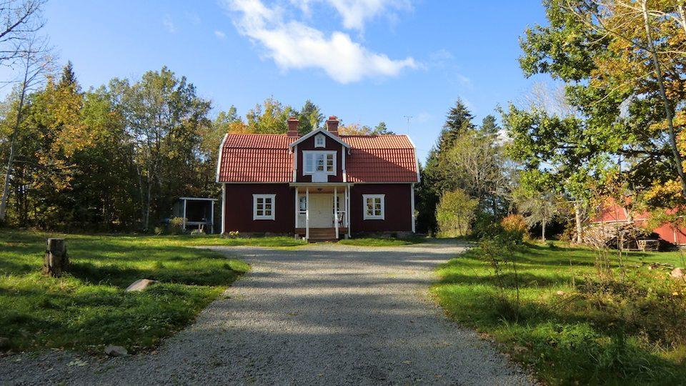 Haus Göshult im Herbst