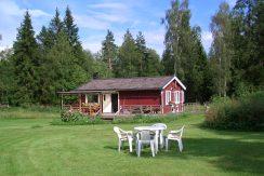 Idyllische Lage im schwedischen Wald