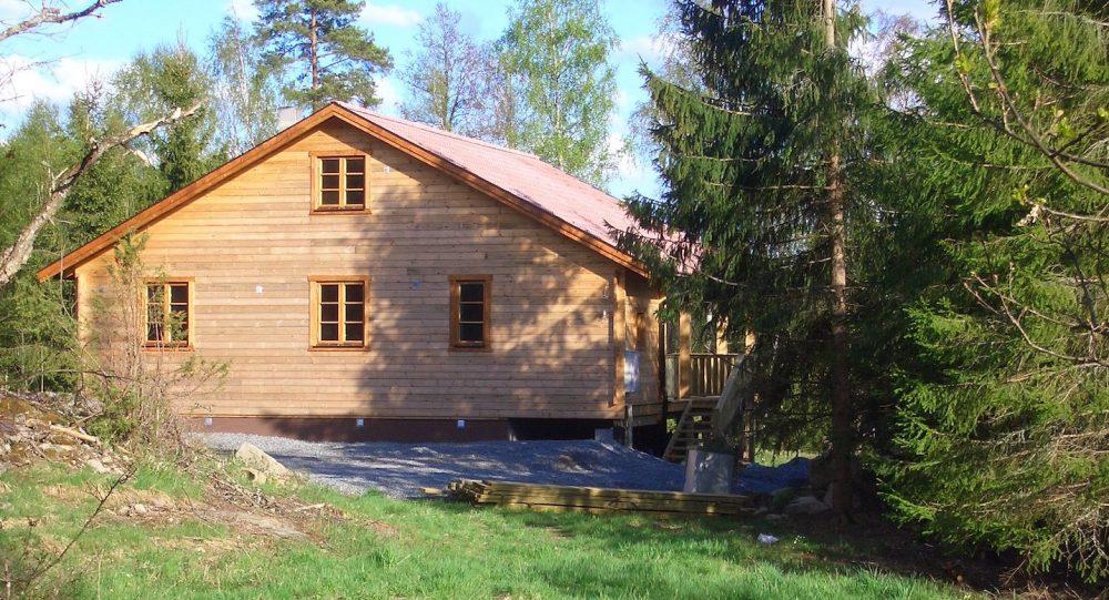 Haus Fuchsbau in Schweden - Nordansicht