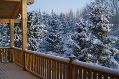 Winterstimmung auf der Terrasse