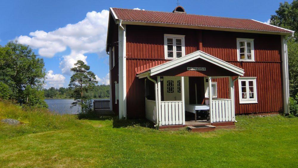 ferienhaus schweden am see - das herrenhaus