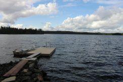 Der See Urasjön, so gut wie unbewohnt