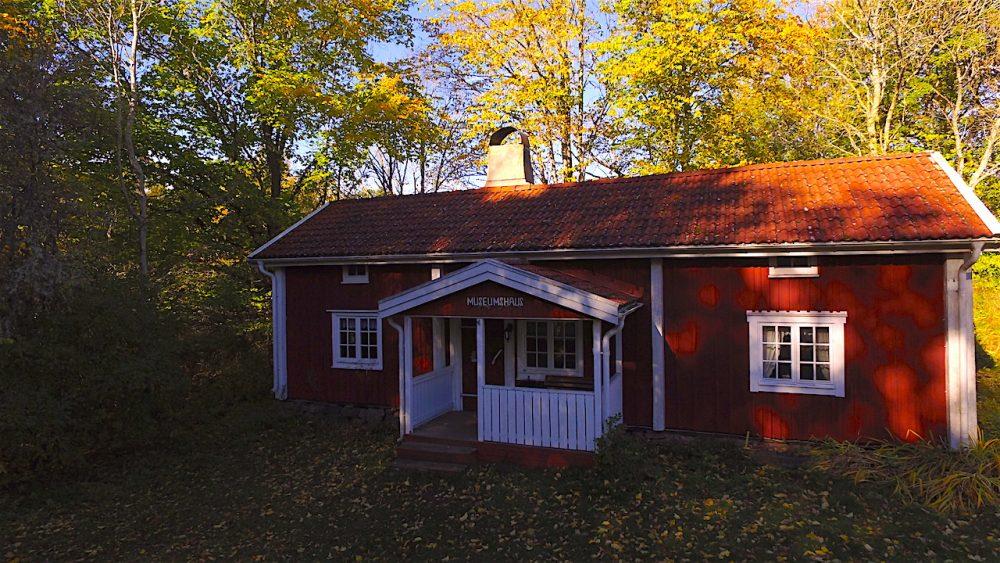 Museumshaus im Herbst