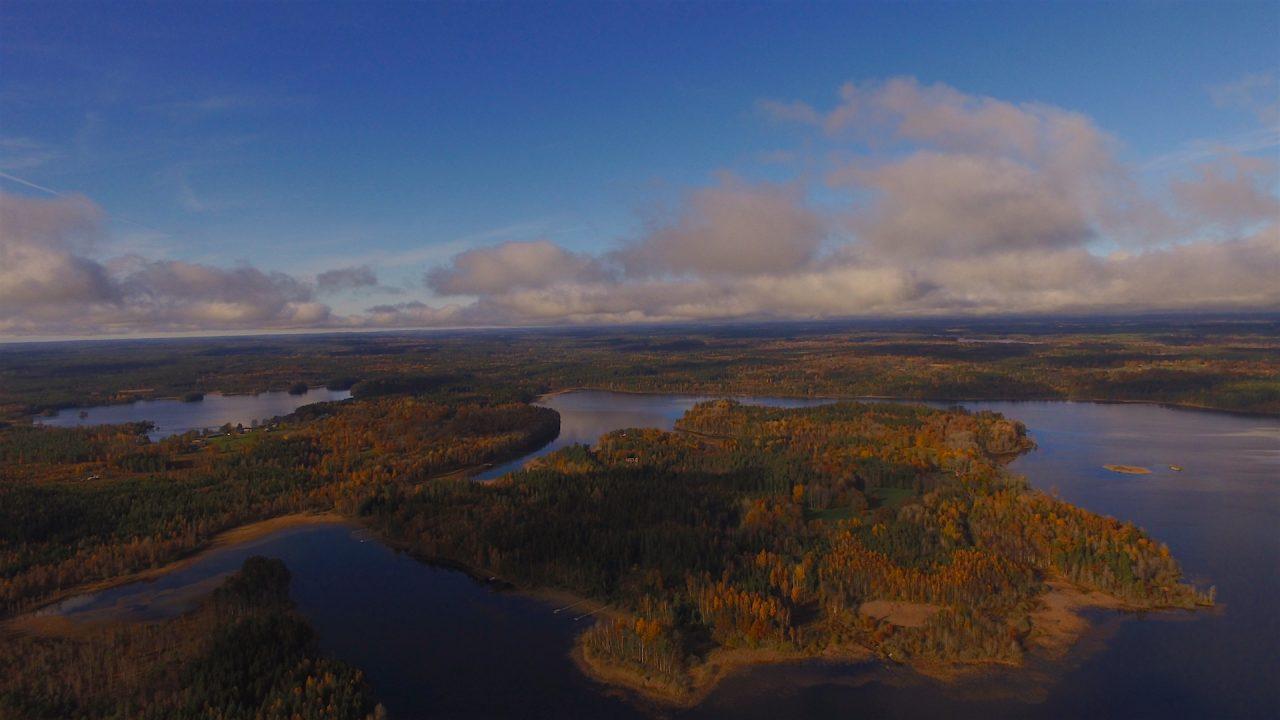 Die Halbinsel Kianäs im Herbst