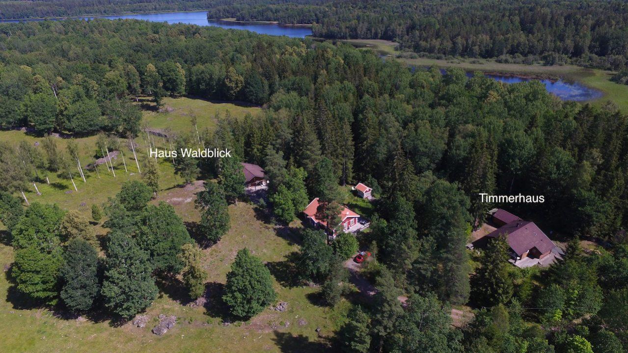 Blockhaus Waldblick nur 100 m zum See