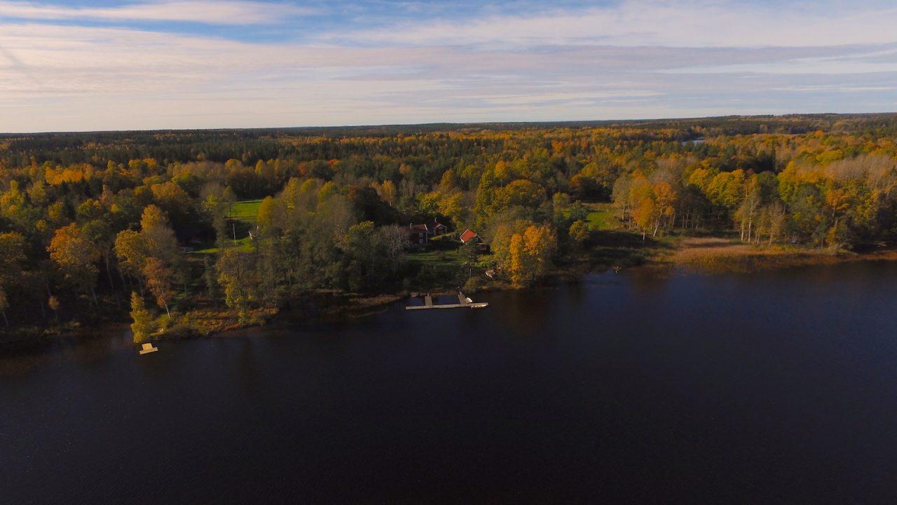 Direkte Seelage am Kiasjön in Südschweden