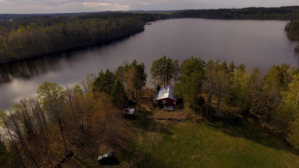 ferienhaus in schweden in alleinlage am see