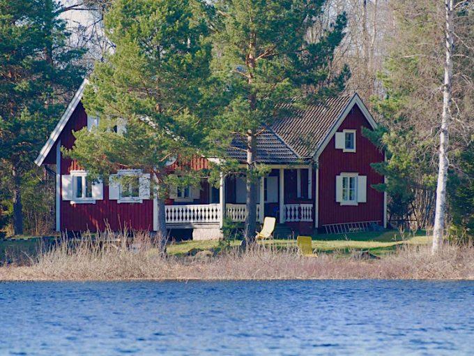 Ferienhaus Nilsson am See Kiasjön