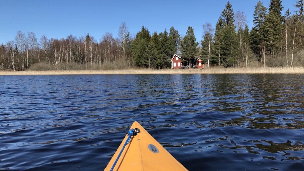 Haus Nilsson - Blick vom See Kiasjön in Smaland