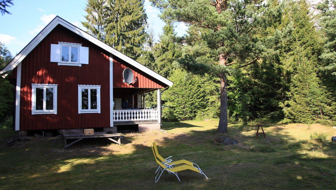 Südseite Ferienhaus Nilsson