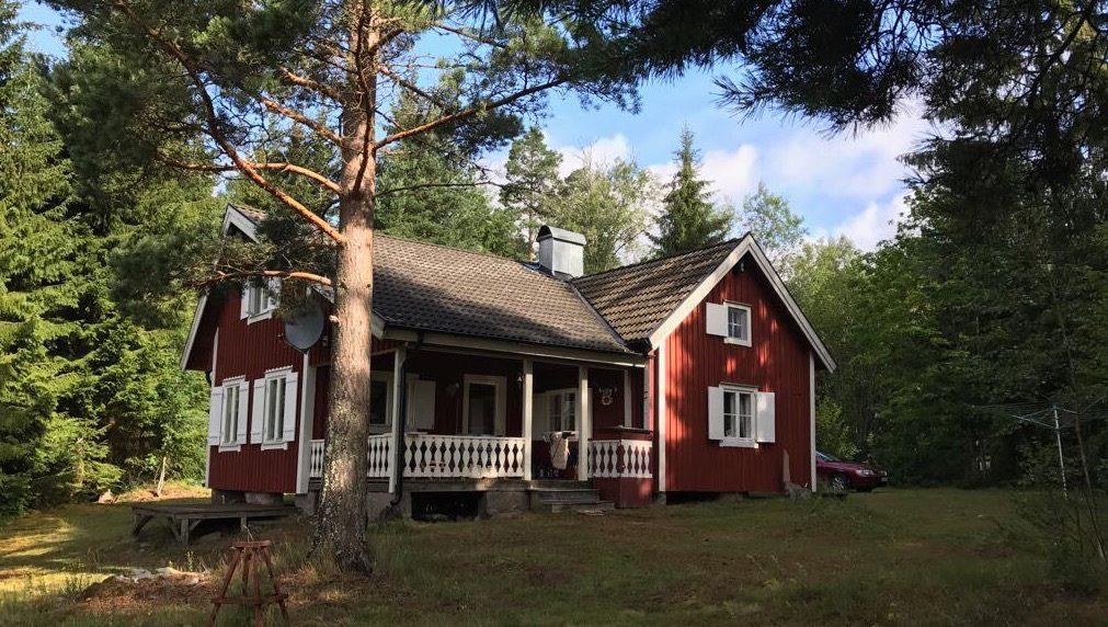 Haus Nilsson auf der Halbinsel Kianäs