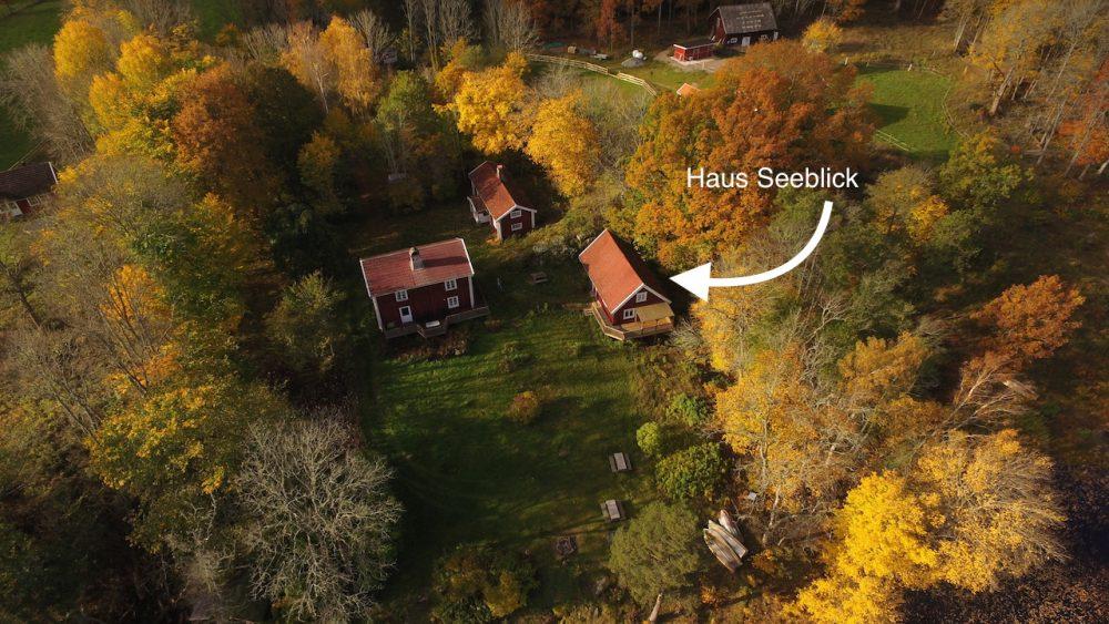 Ferienhaus Seeblick mit zwei Nachbarhäuser