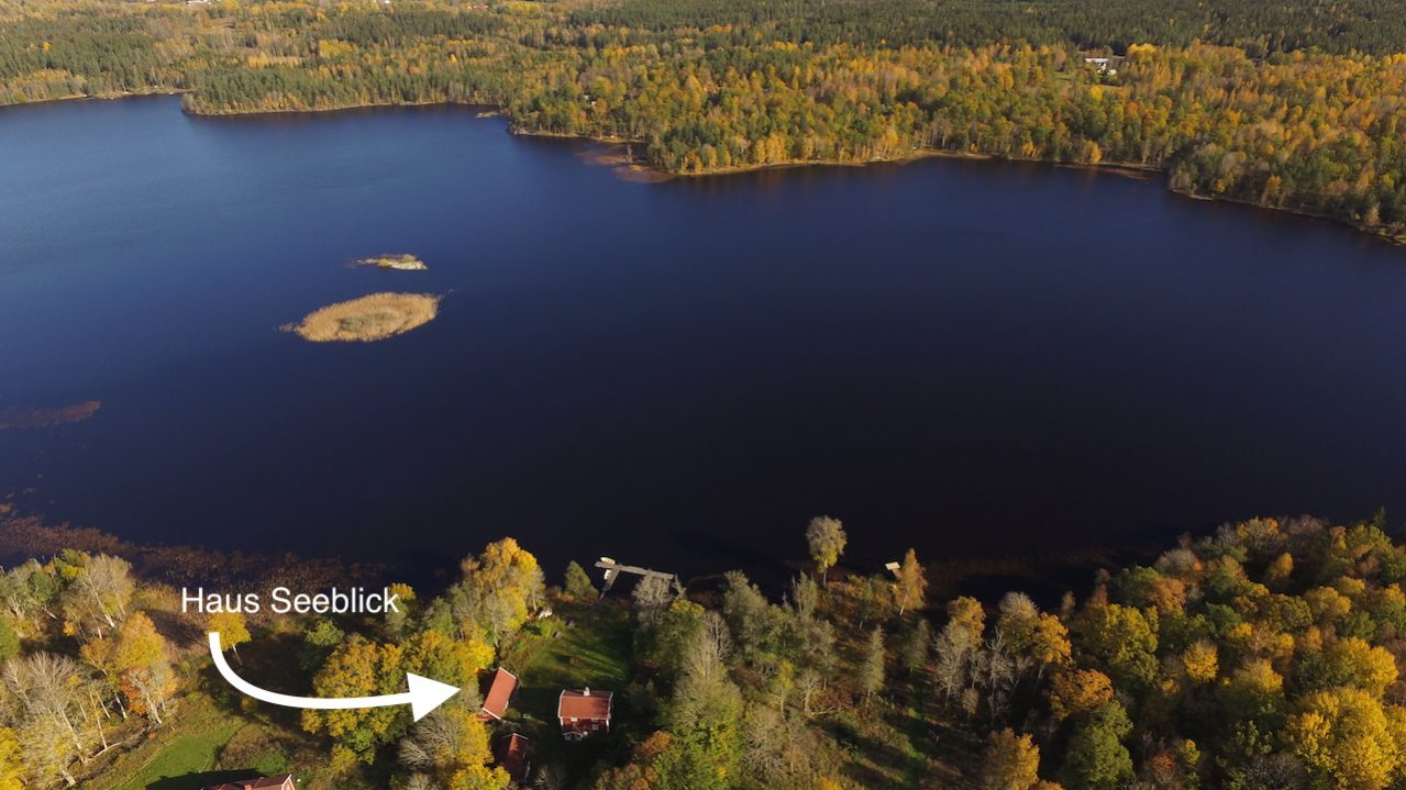 Traumhafte Seelage in Südschweden