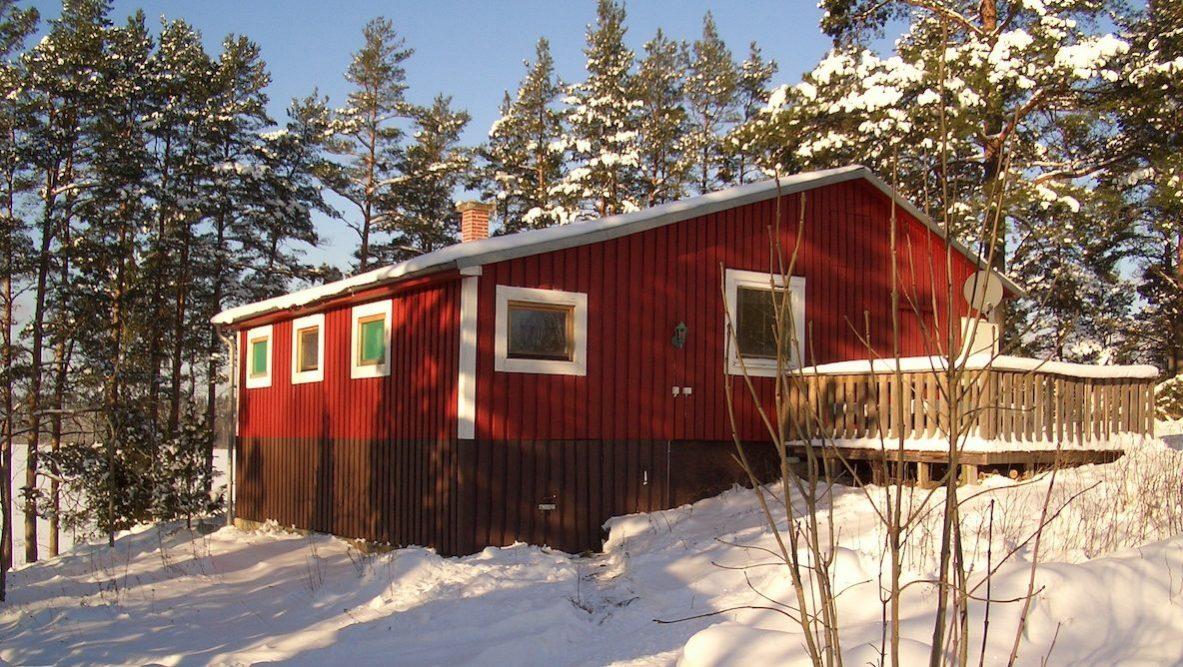 Sauna und Kaminofen garantieren die Wärme im Winter
