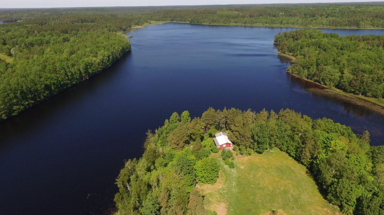 Haus am Kiasjön – Ferienhaus Schweden am See in Alleinlage