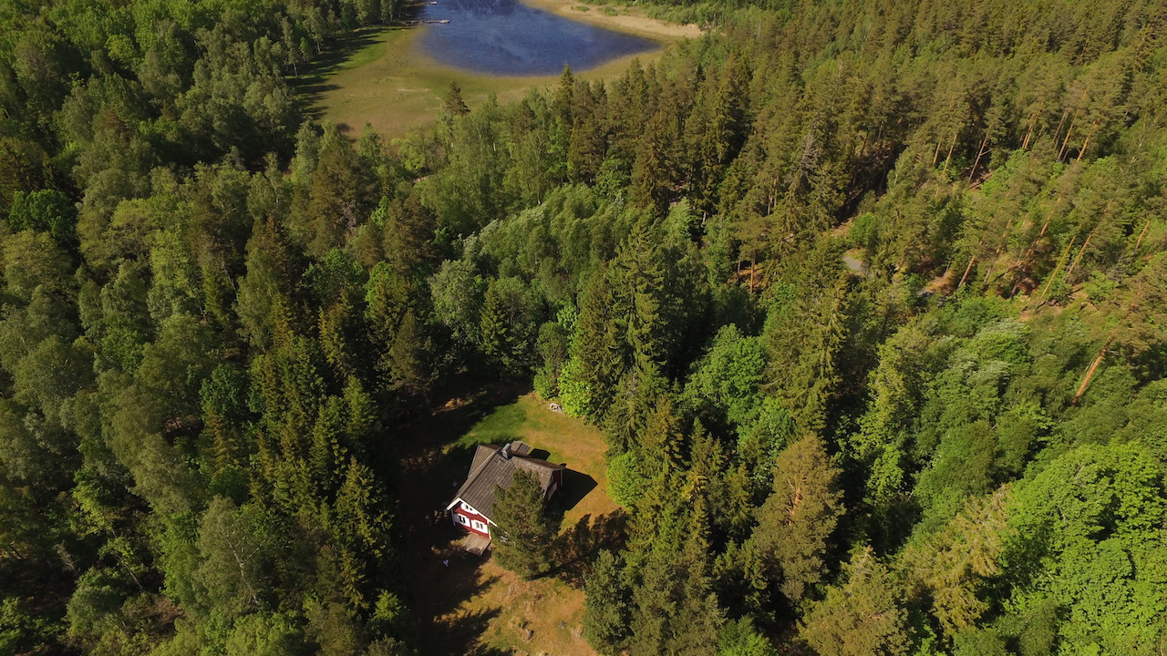 Ferienhaus Nilsson - Luftaufnahme