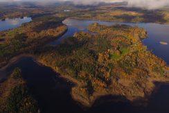 Die Halbinsel Kianäs aus 450 m Höhe