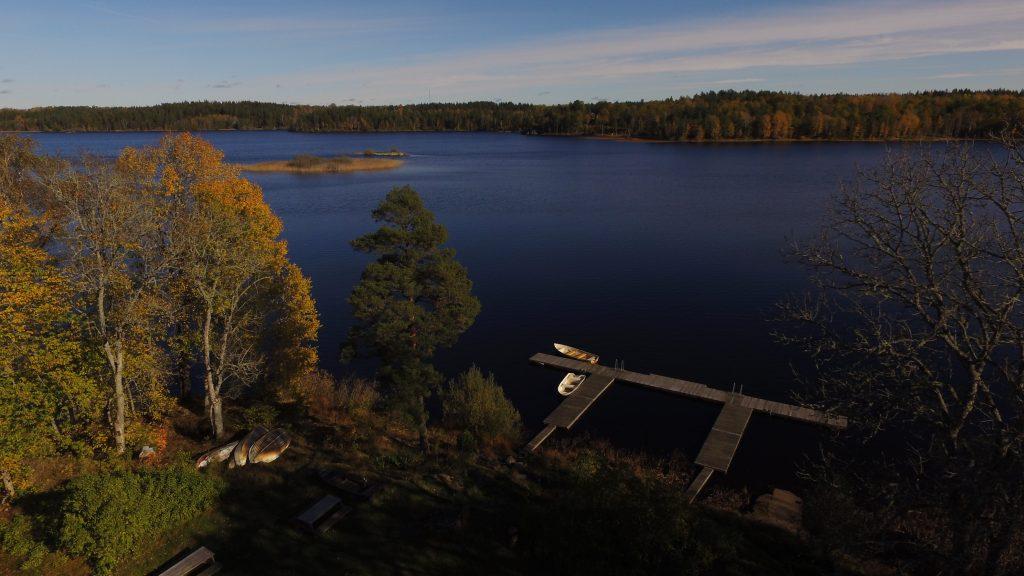 Ferienhaus privat Småland - Steganlage Kianäs in Schweden
