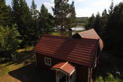 Alleinlage am See Kiasjön in Südschweden