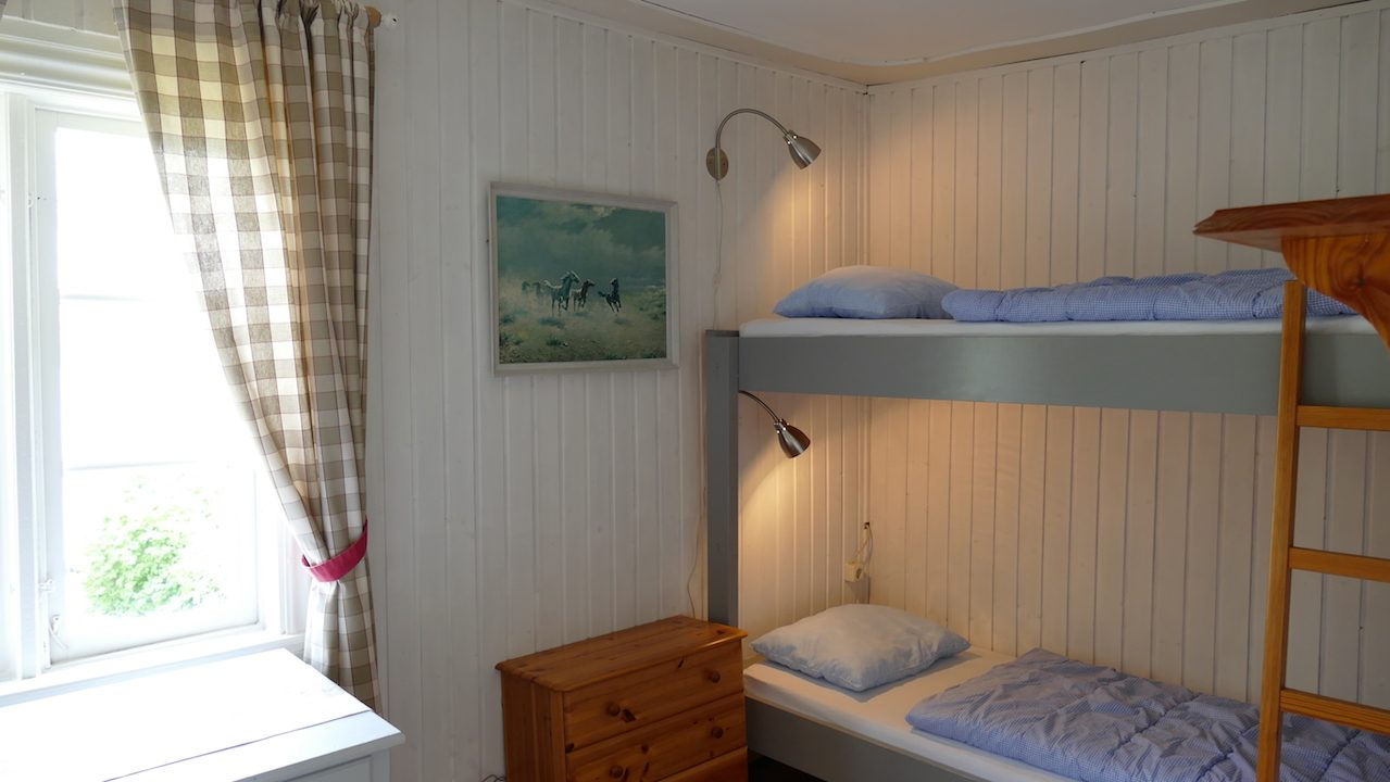 Kinderzimmer im Obergeschoss, Durchgang durch das 2. Schlafzimmer