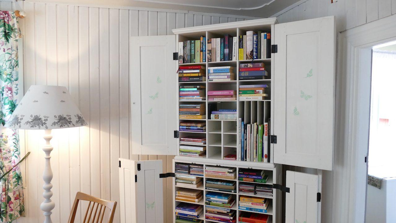 Bibliothek im 2. Schlafzimmer