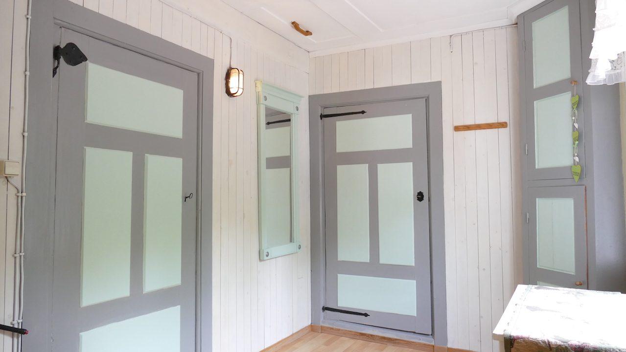 Diele im Obergeschoss mit Zugang zu den Schlafzimmern