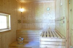 Sauna , elektrisch betrieben