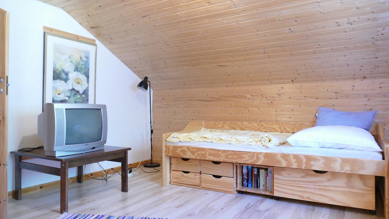 Obergeschoss mit eigenem TV-Anschluss