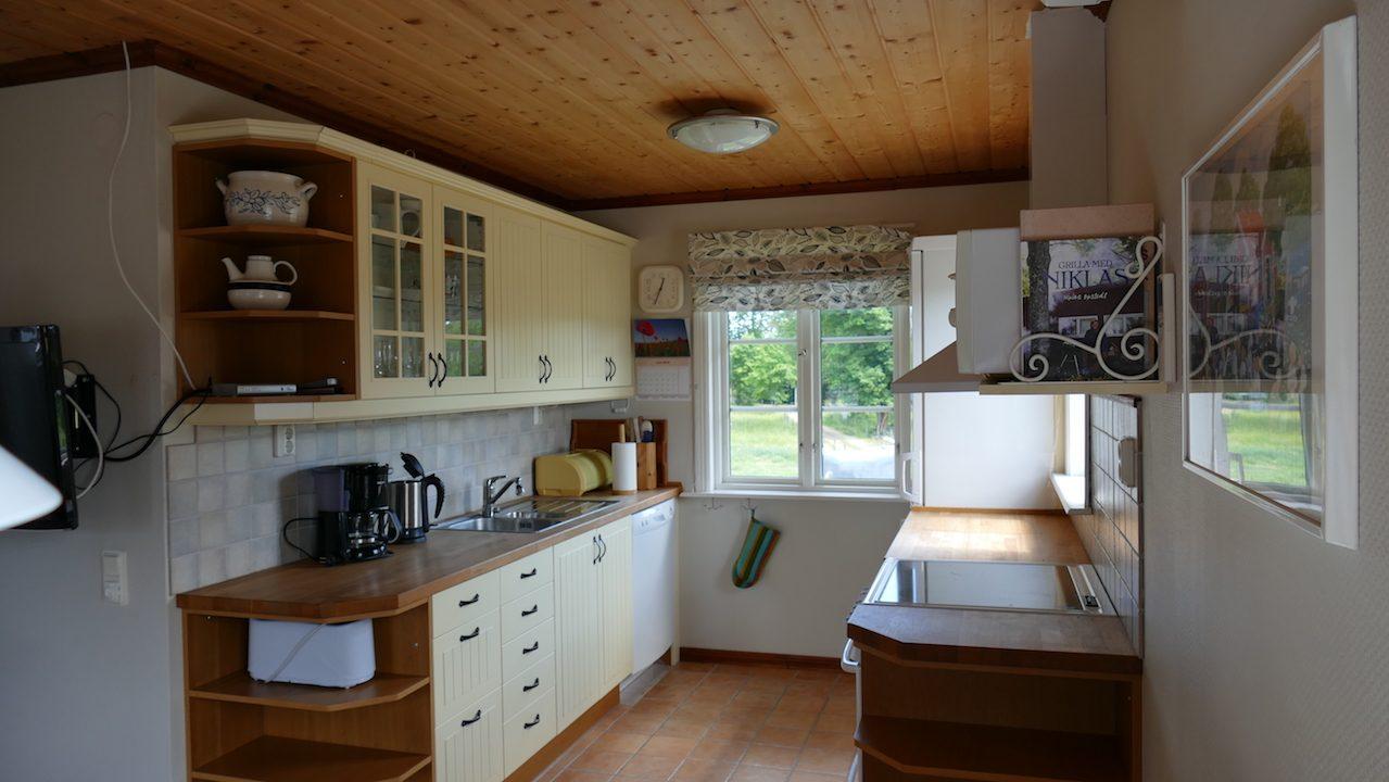 Küche im Wohnbereich intregriert