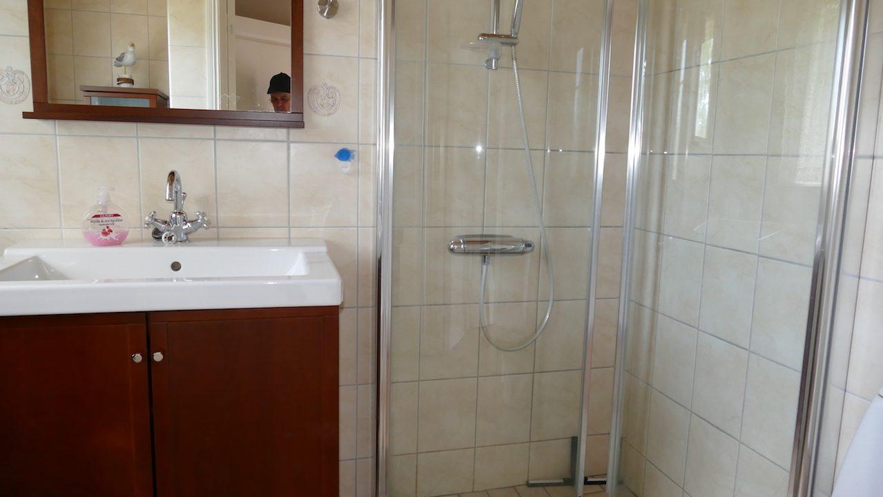 kleines, aber modernes Bad