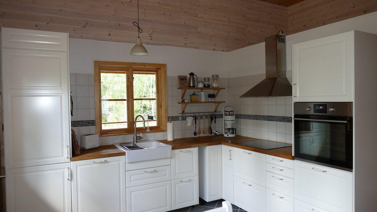 Komplett eingerichtete neue Küche