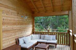 gemütliche Terrassenmöbel