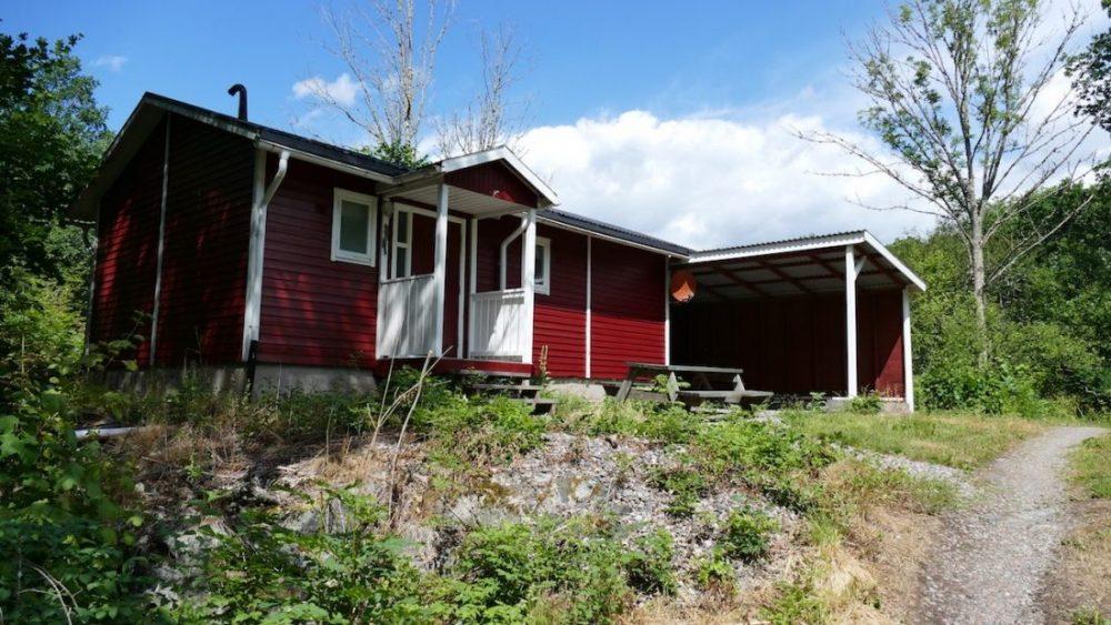 Sommerhaus in Schweden, nur 90 m vom See