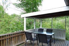 Terrasse, zum Teil überdacht