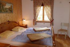 Schlafzimmer 1 im Erdgeschoss