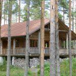 ferienhaus schweden - komfortables Blockhaus in Schweden - Haus Dachsbau