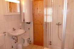 Badezimmer mit Saunazugang