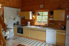 große, komplette Küche