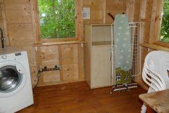 Separater Waschraum für 4 Ferienhäuser