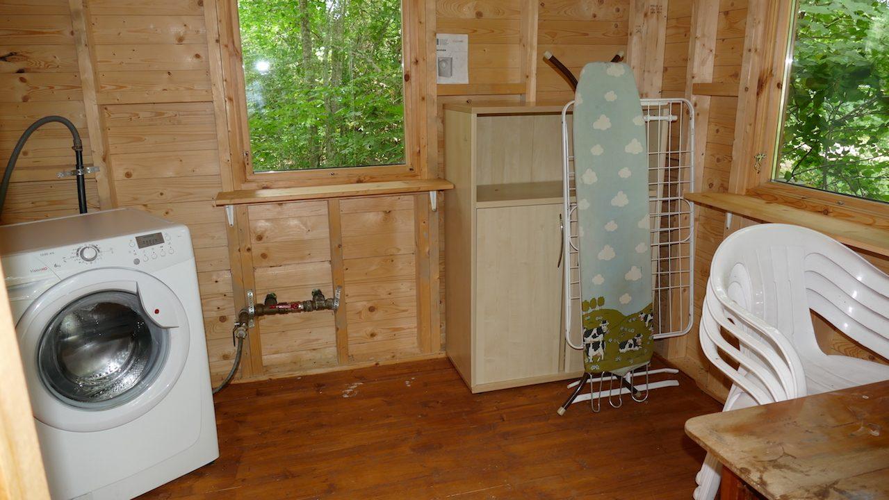 Waschraum für 4 Ferienhäuser