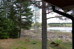 Blick auf den See von der Terrasse