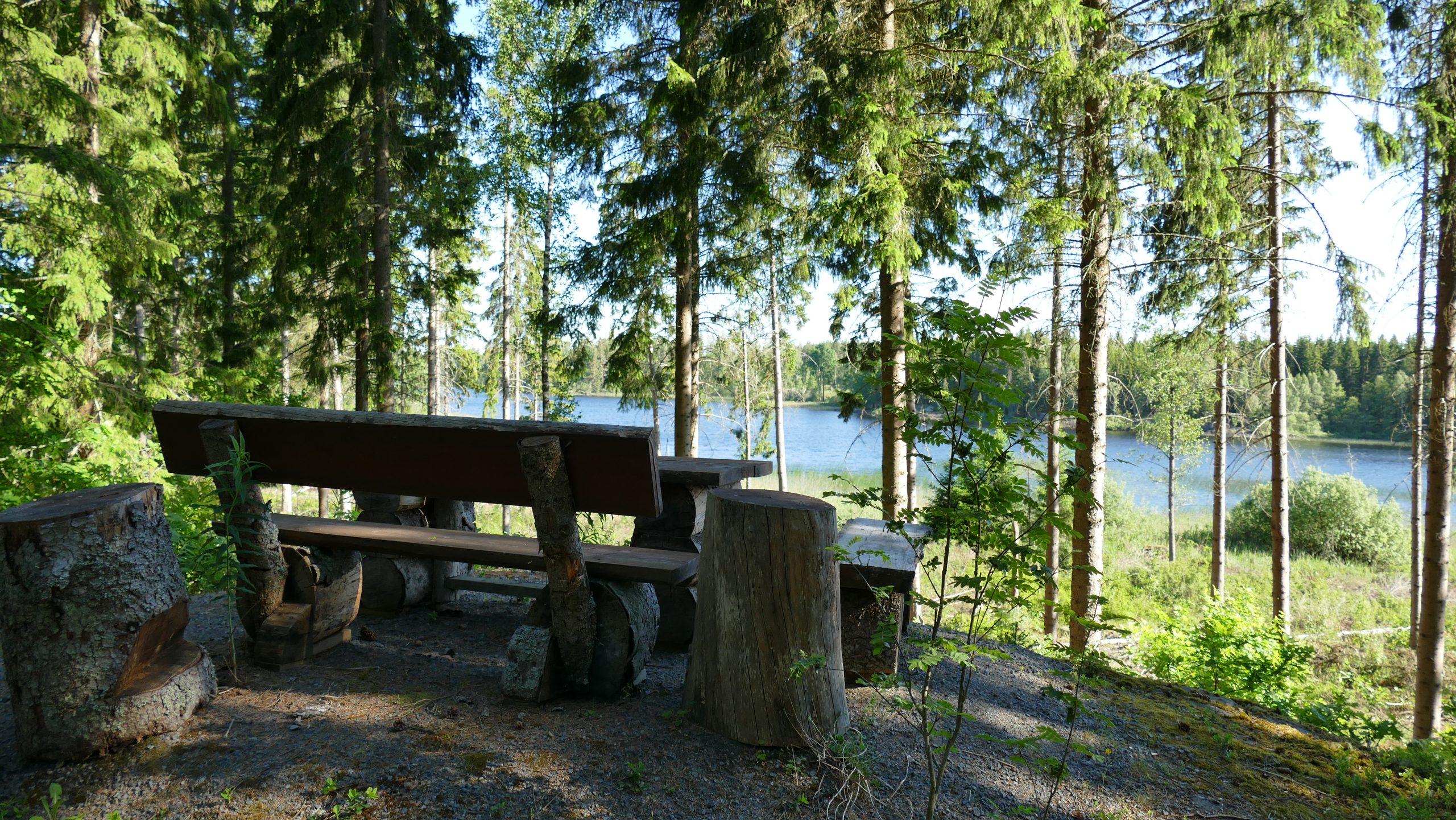 Sitzgruppe am See
