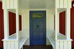Der Eingang in die gute, alte (renovierte) Stube