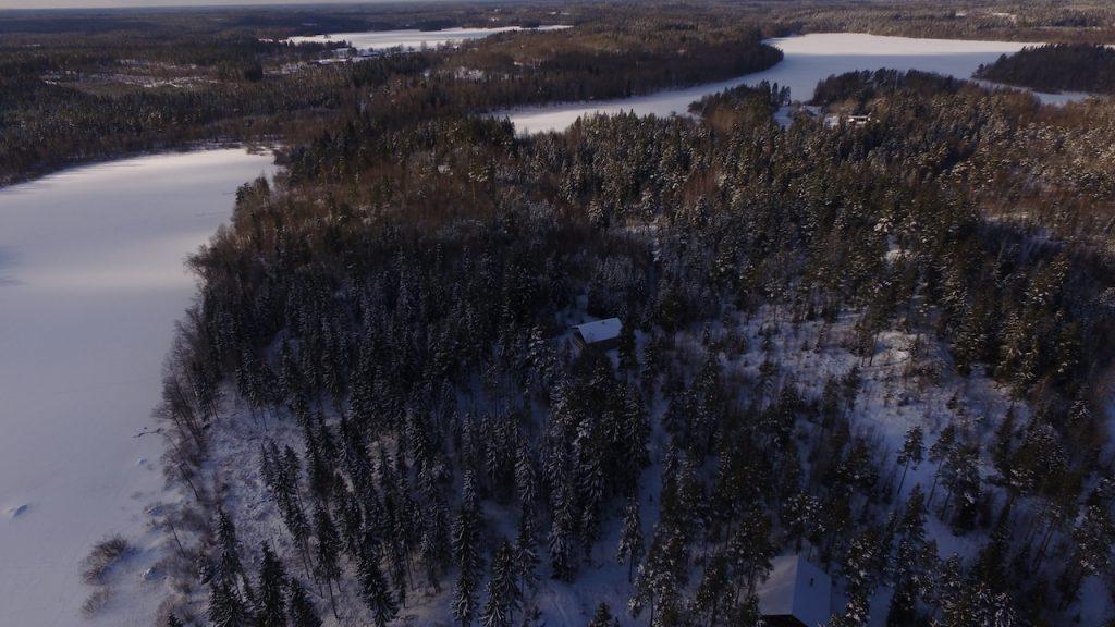 winterurlaub im blockhaus elchhöhe in schweden