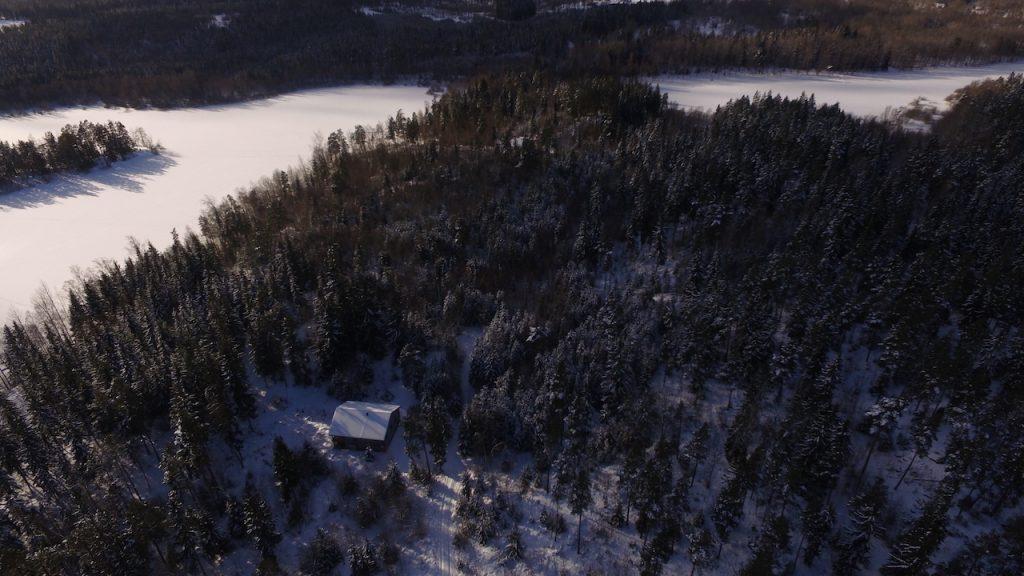 urlaub im winter im blockhaus in südschweden